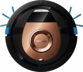 Robot de aspirare Philips SmartPro Compact FC8776/01 0.3L 3 trepte 4 moduri curatare Profil subtire Functie programare Aspiratoare