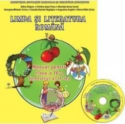 Romana - Clasa a 4-a. Sem. 2 - Manual + CD - Adina Grigore