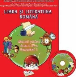 Romana - Clasa a 4-a. Sem.1 - Manual + CD - Adina Grigore