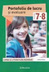 Romana - Clasele 7-8 - Portofoliu De Lucru Si Eval
