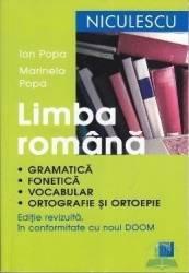 Romana - gramatica fonetica vocabular ed.2016 - Ion Popa Marinela Popa