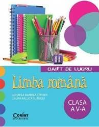 Romana clasa 5 caiet de lucru - Mihaela Daniela Cirstea