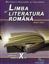 Romana cls 10 - Doina Rusti Carti