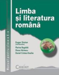 Romana Cls 10 - Eugen Simion Florina Rogalski