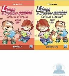 Romana cls 3 caiet partea I+II - Marcela Penes