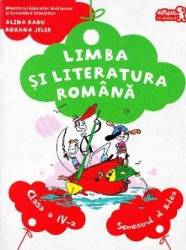 Romana cls 4 sem.2 + CD - Alina Radu Roxana Jeler