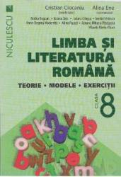 Romana cls 8 Terorie modele exercitii ed.2016 - Cristian Ciocaniu Alina Ene title=Romana cls 8 Terorie modele exercitii ed.2016 - Cristian Ciocaniu Alina Ene