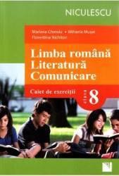 Romana. Comunicare Cls 8 Caiet de exercitii - Mariana Cheroiu Mihaela Musat