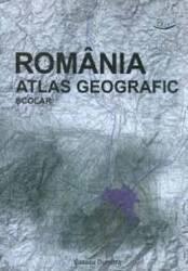 Romania  Atlas Geografic Scolar  Cazacu Dumitra