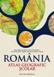 Romania atlas geografic scolar - Ana-Maria Marin Ionut Savulescu Cezar Buterez