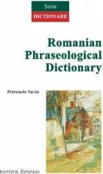 Romanian Phraseological Dictionary - Petronela Savin