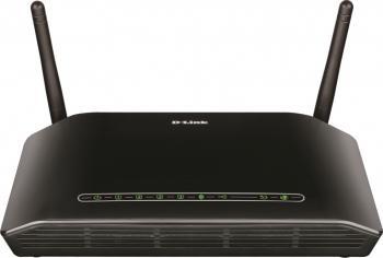 Router Wireless D-Link DSL-2750B ADSL 300Mbps Resigilat Wireless