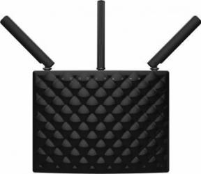 Router Wireless Tenda AC15 AC1900 Dual Band Gigabit Black Wireless