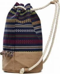 Rucsac Dama Textil 45x44 cm Etnic Genti de plaja