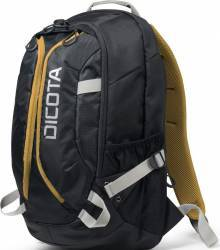 Rucsac Dicota Backpack Active 14-15.6inch Negru Galben Genti Laptop
