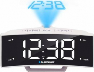 Radio cu ceas Blaupunkt CRP7WH