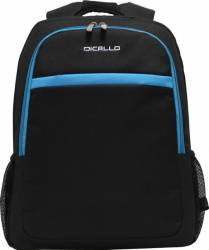 Rucsac Laptop Dicallo LLB9256B 15.6 inch Black/Blue Genti Laptop