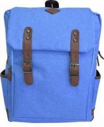 Rucsac Laptop Okade T32 Rezistent la Apa 15.6 inch Albastru + mini GPS Tracker  Genti Laptop