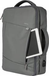 Rucsac laptop Romoss EPACK 15.6 inch cu port USB incarcare telefon Gri Genti Laptop