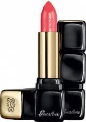 Ruj Guerlain KissKiss Shaping Cream 343 Sugar Kiss make-up buze