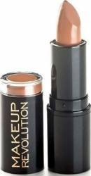 Ruj Makeup Revolution London Amazing - Nude Make-up buze