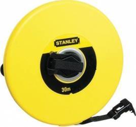 Ruleta Stanley 0-34-295 10m banda fibra de sticla