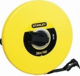 Ruleta Stanley 0-34-297 30m banda din fibra de sticla