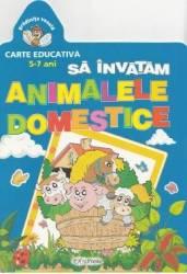 Sa invatam animalele domestice 5-7 ani
