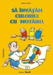 Sa invatam culorile cu Motanel - Raluca Inako Carti