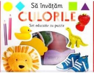 Sa invatam culorile Set educativ cu puzzle