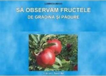 Sa observam fructele de gradina si padure - Planse - Luminita Mihoc