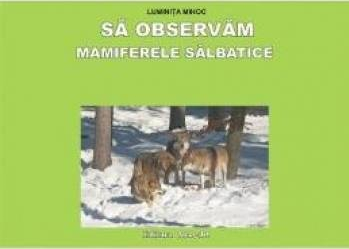 Sa observam Mamiferele salbatice - Planse - Luminita Mihoc