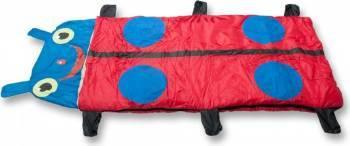 Sac de dormit pentru copii ZELTEN 168 x 68cm Red-Blue Camping si drumetii