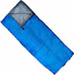 Sac de Dormit plic ZELTEN 185 x70 Albastru Camping si drumetii