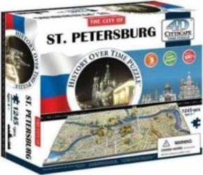 SAINT PETERSBURG Puzzle 4D Cityscape Jucarii Interactive