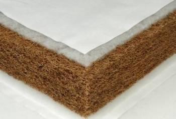 Saltea Nichiduta din cocos integral 120x60x10 cm Saltele patut