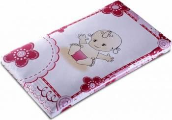 Saltea pentru patut Cocos Spuma 110x65x10 cm Baby Girl