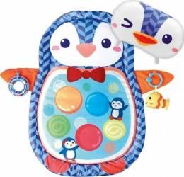 Salteluta bebe WinFun Pinguin cu activitati Jucarii