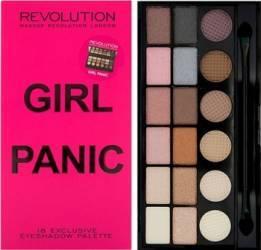 Paleta de culori Makeup Revolution London Salvation - Girl Panic Make-up ochi