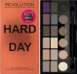 Paleta De Culori Makeup Revolution London Salvation - Hard Day