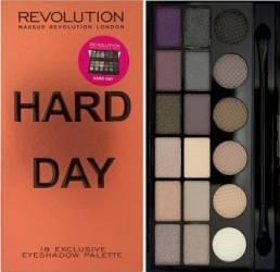 Paleta de culori Makeup Revolution London Salvation - Hard Day Make-up ochi