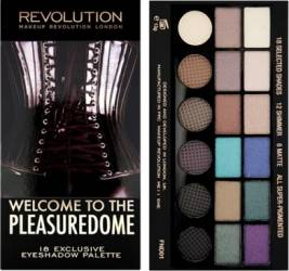 Paleta de culori Makeup Revolution London Salvation - Welcome to the Pleasuredome Make-up ochi