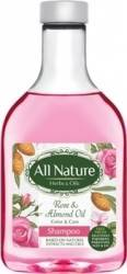 Sampon All Nature Rose And Almond Oil 255ml