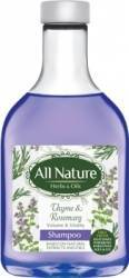 Sampon All Nature Thyme and Rosemary 255ml