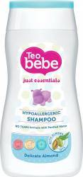Sampon-Gel de dus Teo Bebe Delicate Almond 200 ml Cadite, prosoape si accesorii baie