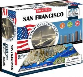SAN FRANCISCO Puzzle 4D Cityscape Jucarii Interactive