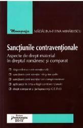 Sanctiunile contraventionale - Madalina-Elena Mihailescu