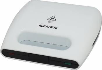 Sandwich maker Albatros SGA-750 750W White Sandwich maker