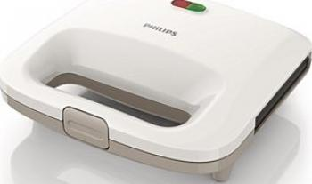 Sandwich-Maker Philips Daily Collection HD2392/00, 820 W, Alb/Bej Sandwich maker