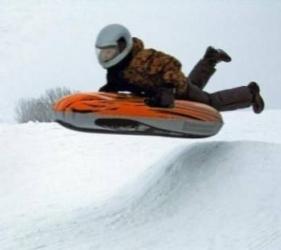 Sanie gonflabila Speed Flash 1 Alpen Gaudi Saniute si patine